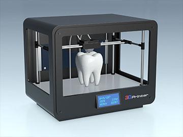 3D Drucker Zahn Schema Grafik