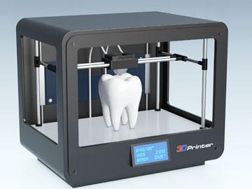 Zahnabdruck 3D Drucker neu